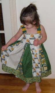 NFL Green Bay Packers Custom Unique Toddler Dress 12   24 Month, 2T