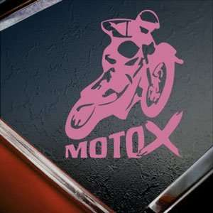 X GAMES MOTO X Pink Decal Car Truck Bumper Window Pink