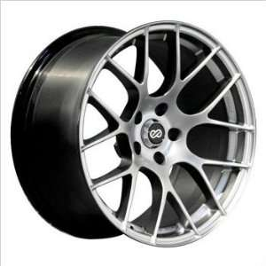 5x120 Bolt Pattern 72.6 Bore Diameter Hyper Silver Wheel Automotive