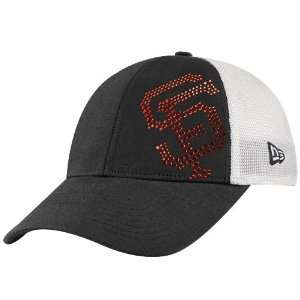 New Era San Francisco Giants Ladies Black White Jersey