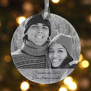 Personalized Photo Christmas Ornaments   Ceramic  For the Home Home