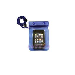 WATERPROOF CASE POUCH BAG f /MP4/IPOD/IP​HONE/PHONE