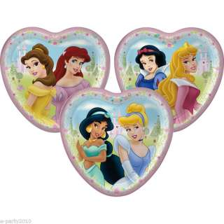 DISNEY Princess Birthday Party Supplies ~ 8 Cake PLATES 726528225540