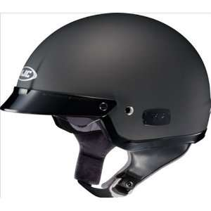 Matte Black Open Face Motorcycle Helmet IS2 Size X Large Automotive