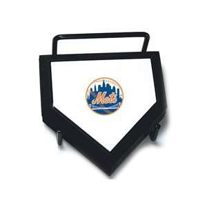 Schutt New York Mets Home Plate Coaster Set