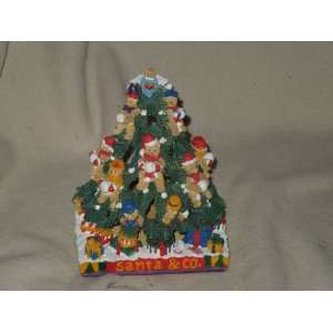 Man Christmas Tree(apx 9 Tall) Candle Holder Everything Else
