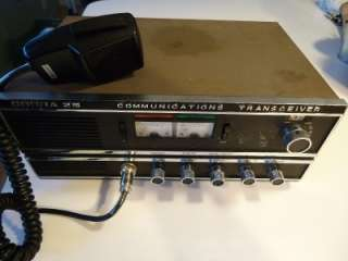 Vintage Cobra 25 Home Base Station 23 Channel 2 Way CB Radio (Working