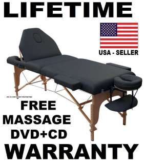 MASSAGE TABLE NEW BED PORTABLE FOUR COLOR CHOICES