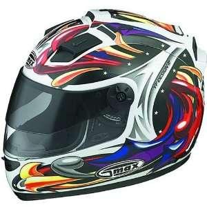 GMAX GM68 Wizard Mens On Road Motorcycle Helmet   White