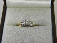 Ladies 14kt Yellow Gold & Diamond Engagement Ring *1 ct.*