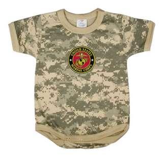 US Marines USMC Marine Corps Onsie Baby shirt Onesie