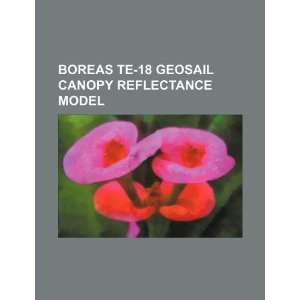 BOREAS TE 18 GeoSail canopy reflectance model