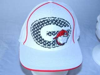 Bulldogs Hat Mens M/L Ball Cap NCAA College white Baseball NEW
