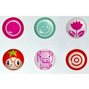 Sun Flower Pig Candy Home Button Sticker for Iphone 4g/4s