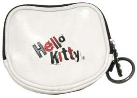 Loungefly Angry Hello Kitty Coin Purse Sanrio Goth New Face Black