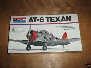 48 monogram vintage AT 6 Texan trainer model kit