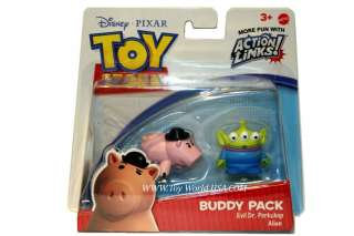 Disney Toy Story EVIL DR. PORKCHOP+ALIEN Buddy Pack