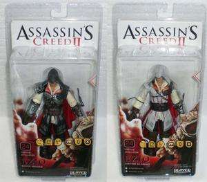 NECA Assassins Creed 2 EZIO Black & White Figure Set