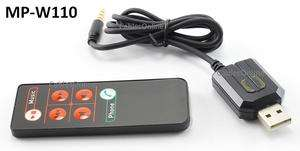 Headphone / Headset Adapter with Wireless Remote Control for iPod