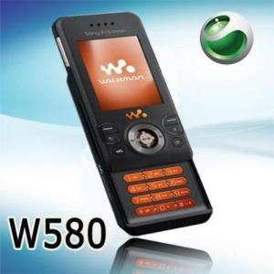 Unlocked Sony Ericsson W580 W580i Cell Phone GSM Black 95673840305