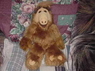 18 Talking ALF Plush Toy From Melmac 1986 Very Nice