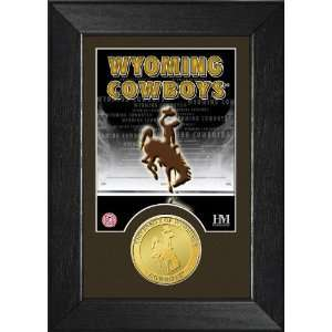University of Wyoming Cowboys Framed Mini Mint Sports