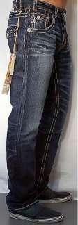 MEK Denim Mens NEW YORK Jeans Straight DB   30 x 34
