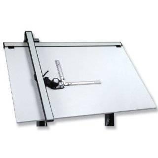 Vemco Drafting Machine 4100   24 Versatilt with 5 rules