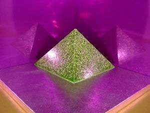 Orgone Alien Abduction Repellent 4 x Pyramids 1 Pendant