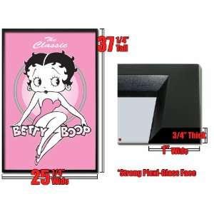 Framed Betty Boop Poster Classic Pink Cartoon Fr24795