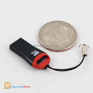 Mini Micro SD TF TFlash SDHC to USB Memory Card Reader