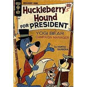 Huckleberry Hound (1962 series) #35 Gold Key Books