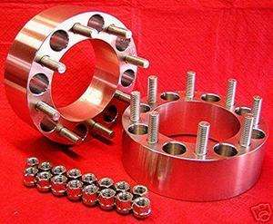 Lug Dodge Dually Old Ford WHEEL SPACERS 2.5 inch