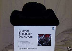 BMW Factory Sheepskin Seat Covers
