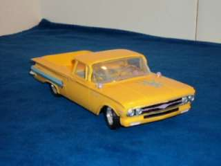 Vintage AMT SMP 1960 Chevy El Camino 1/25 Scale Built Model Kit #7660