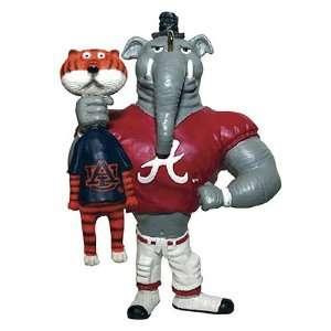 Alabama Crimson Tide NCAA Rivalry Tree Ornament