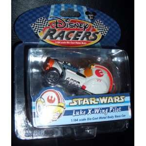 Disney Racers Star Wars   Luke X wing Pilot 1/64 Scale Die