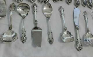 Towle El Grandee Sterling Silver Flatware 80 pc. includes 16 Serving