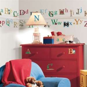 RoomMates RMK1029SCS Alphabet Peel & Stick Wall Decals