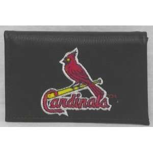 MLB ST LOUIS CARDINALS LEATHER LOGO WALLET Sports