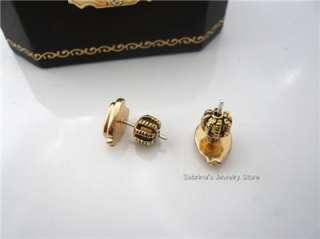 Auth Juicy Couture Cute Owl Stud Earrings Studs $38