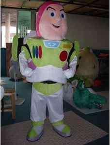 Buzz Lightyear Adult mascot costume Fancy Party Dress