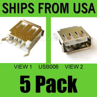 Pack Lot of New USB Replacement Port Connector Acer Dell Asus