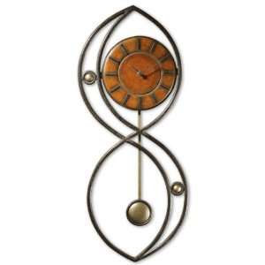 Uttermost Portola Wrought Iron 30 High Wall Clock