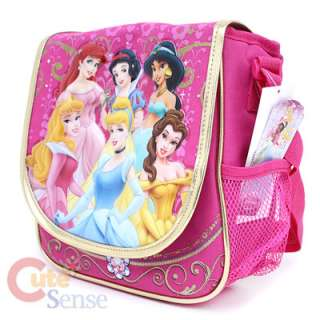 Disney Princess School Bag Lunch Snack Tote Glamous