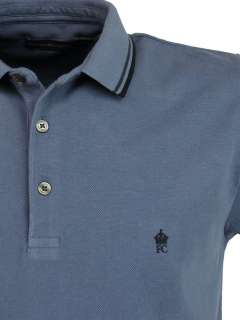 Mens FCUK/ French Connection Pique Polo T  Shirt Twin Tipped