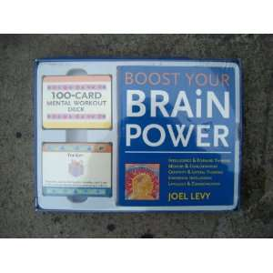 Boost Your Brain Power   Paperback Book and 2 Sets of