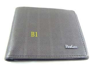 offer 4 Kinds Bifold Soft Smooth PU Leather Wallet ID Card Holder