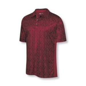 2008 Mens ClimaCool Paisley Print Golf Polo Shirt