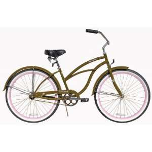 Beach Cruiser Bicycle Woman 26 Firmstrong Urban Lady Boutique Pink